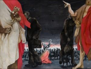 Opuszczona IX, 1978, olej, płótno, 130x170 cm, wł. MS w Łodzi
